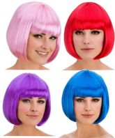 Diva Bob Wigs (Coloured)
